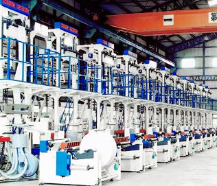 HDPE SINGLE HEAD TYPE SUPER HIGH SPEED BLOWN FILM LINE