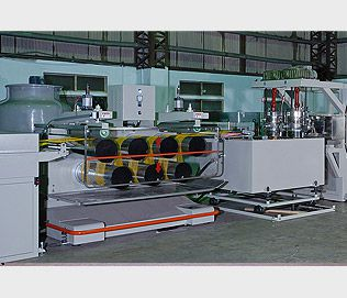 P.P.&P.E. MONOFILAMENT MAKING MACHINE
