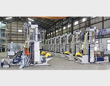 ECONOMICAL E-TYPE HDPE/LDPE HIGH SPEED BLOWN FILM LINE