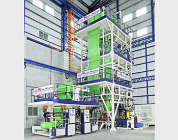 MULTI LAYER CO-EXTRUSION HIGH SPEED BLOWN FILM LINE